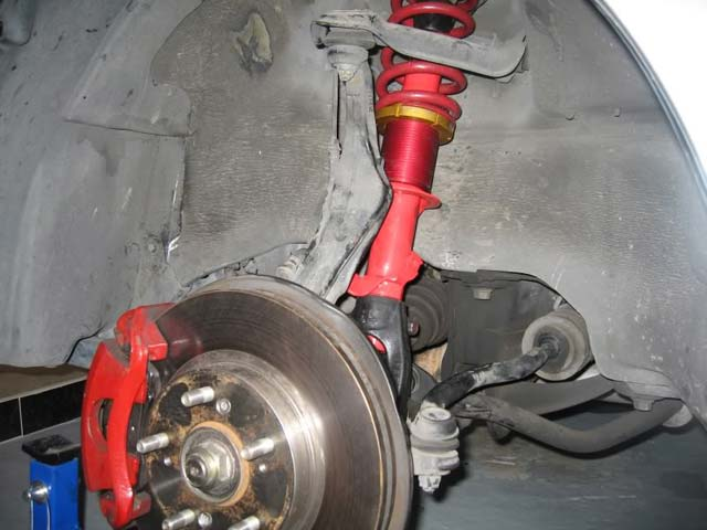 Ground Control Coilover/AGX Shock Install - eXtremePrelude com