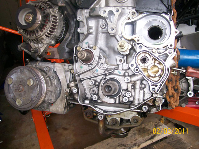 on Honda Civic How To Replace Timing Belt And Water