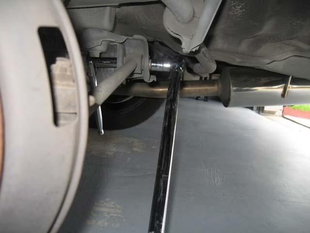 remove bolt