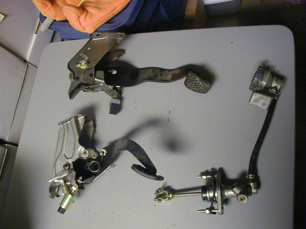 5 Speed swap parts