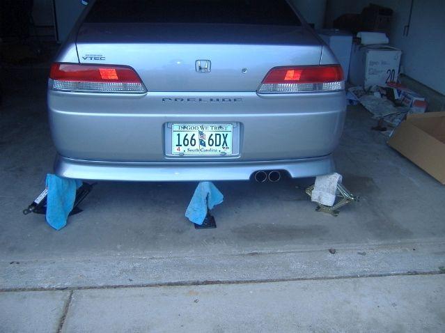Rear mounting