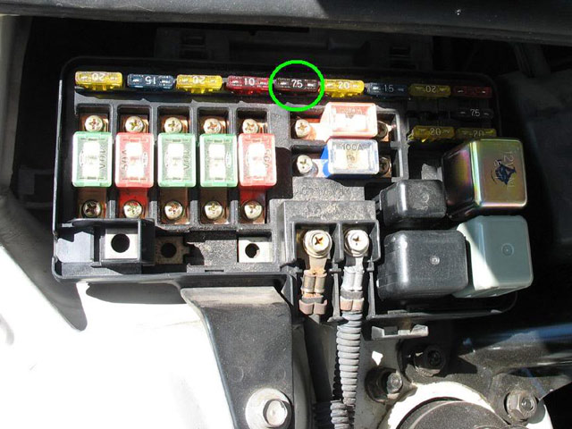 how to retrieve cel, atts, abs, and 4ws codes extremeprelude comHonda Prelude 5th Gen Fuse Box #15