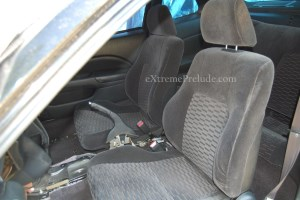 OEM Front Cloth Seats - Black
