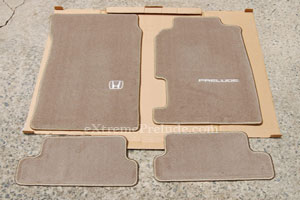 OEM Tan Floor Mats - New