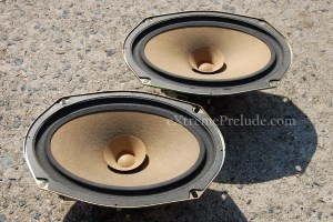 Rear OEM Acoustic Feedback System Speakers