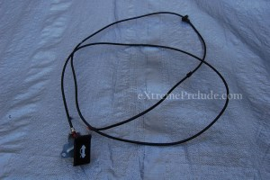 Hood Release Cable and Lever