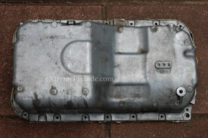 OEM H22a4 Oil Pan and Drain Plug - Used