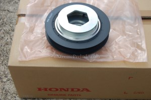 OEM H22a4 Crankshaft Pulley - New