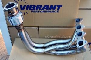 Vibrant H22 4-2-1 Header - New
