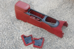JDM Red Center Console