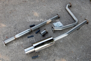 Stainless Steel Cat-Back Exhaust System - New