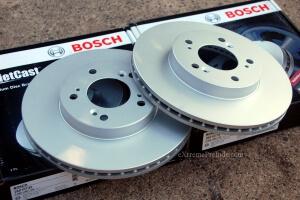Bosch Premium Brake Rotors - New