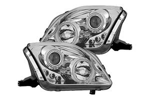Chrome Housing Projector Headlights - New