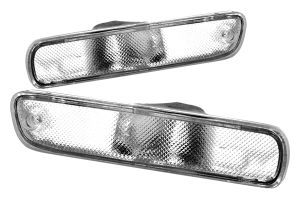 Clear Side Marker Lights - New