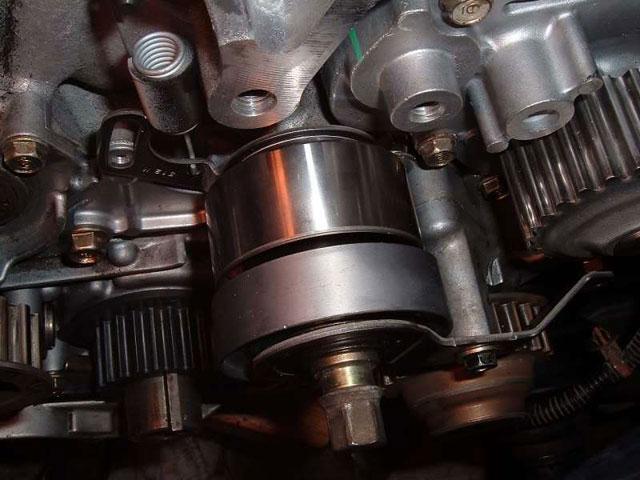 manual tensioner installed