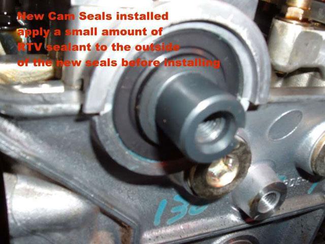 install new cam seals