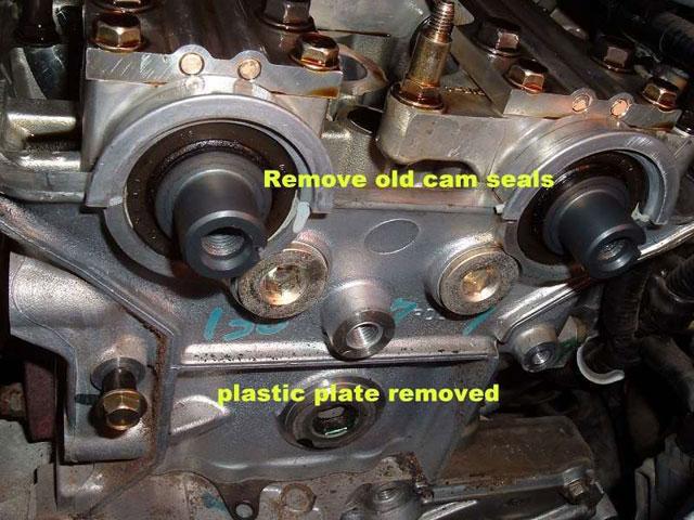 remove old cam seals