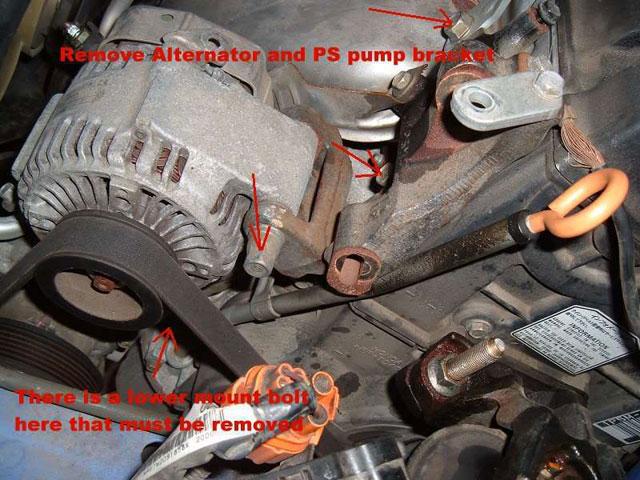 remove alternator