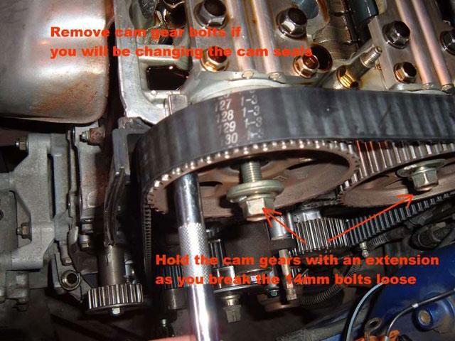 remove cam gear