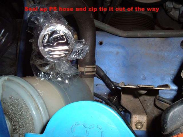 seal power steering hose