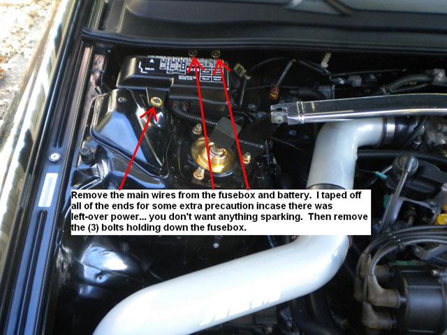 how to engine wire tuck extremeprelude com Battery Switch Box battery