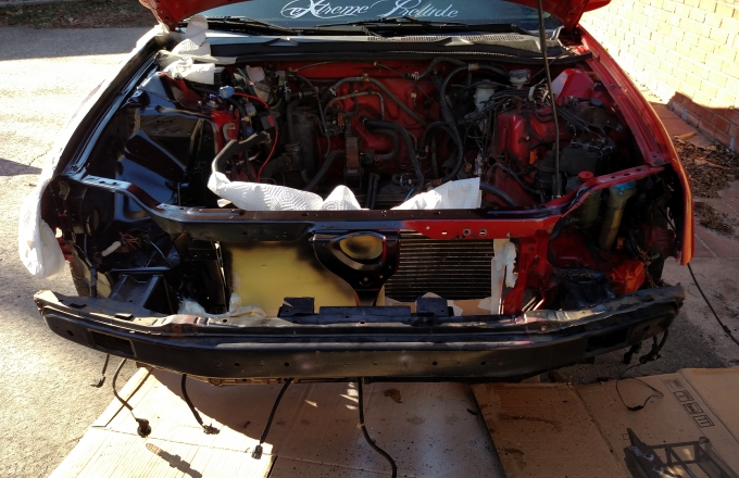 Engine Bay Paint