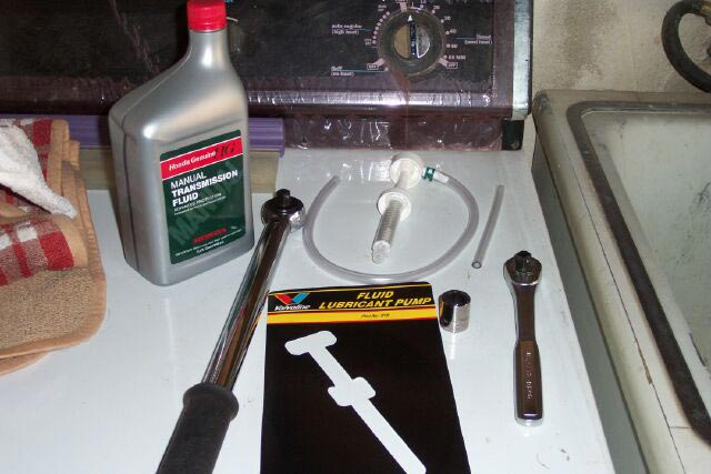 Changing Manual Transmission Fluid - eXtremePrelude com